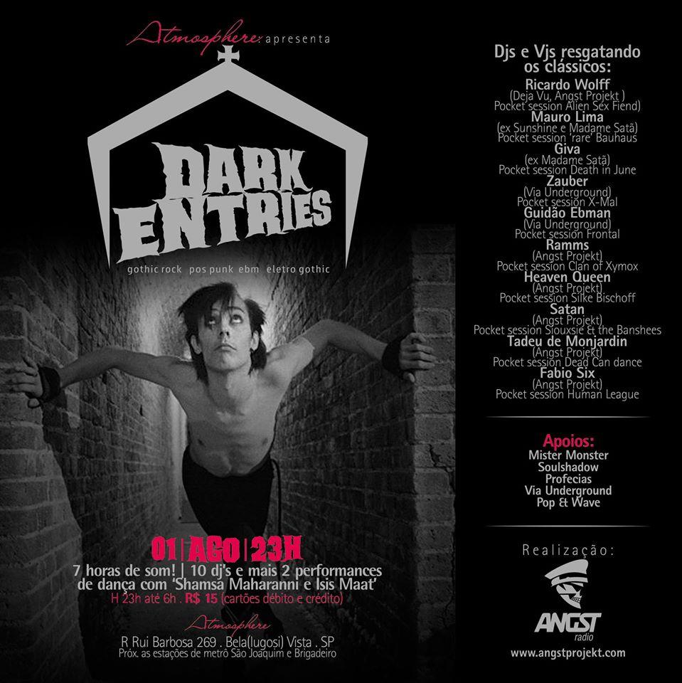 poster Dark entries