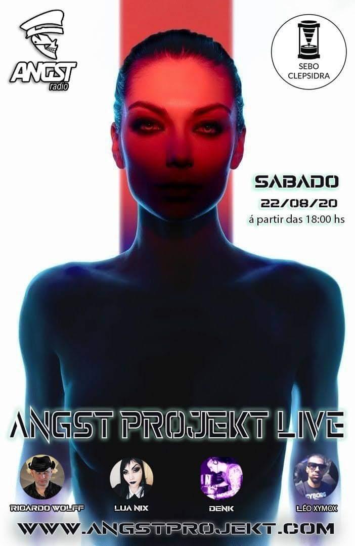 Flyer Angst Projekt Live 22-08